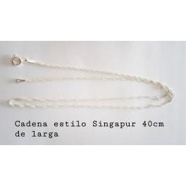CADENA DE 40 CM.