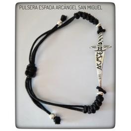 PULSERA ESPADA DEL ARCÁNGEL SAN MIGUEL