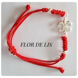 PULSERA FLOR DE LIS