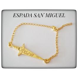 PULSERA ESPADA  ARCÁNGEL SAN MIGUEL