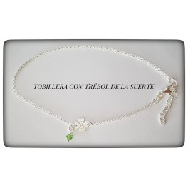 TOBILLERA CON TRÉBOL DE LA SUERTE