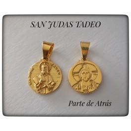 SAN JUDAS TADEO CHAPADO EN ORO