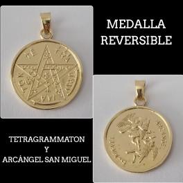 TETRAGRAMMATON CON ARCÁNGEL SAN MIGUEL