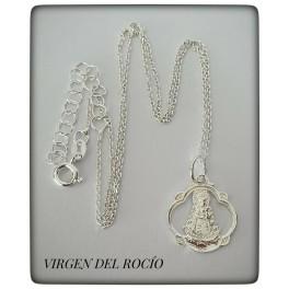 VIRGEN DEL ROCIO CON CADENA